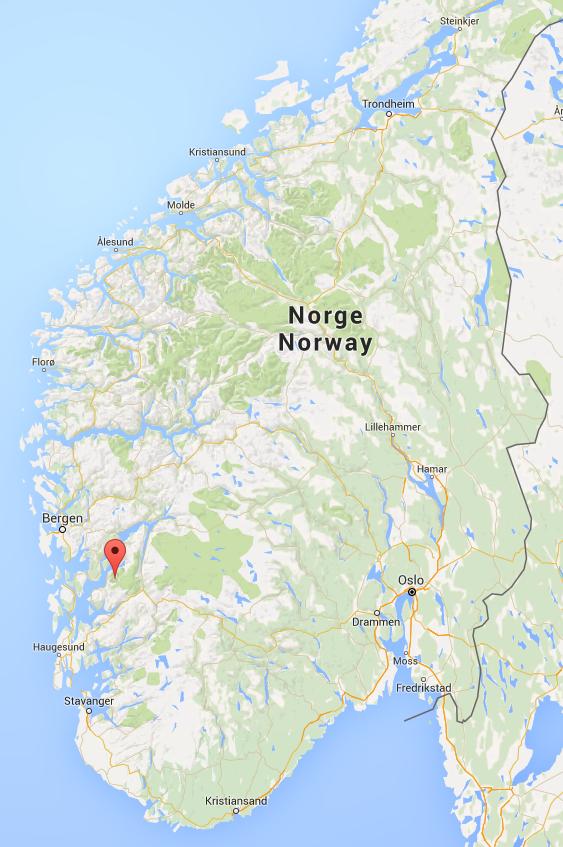 locatie Juklavatnet